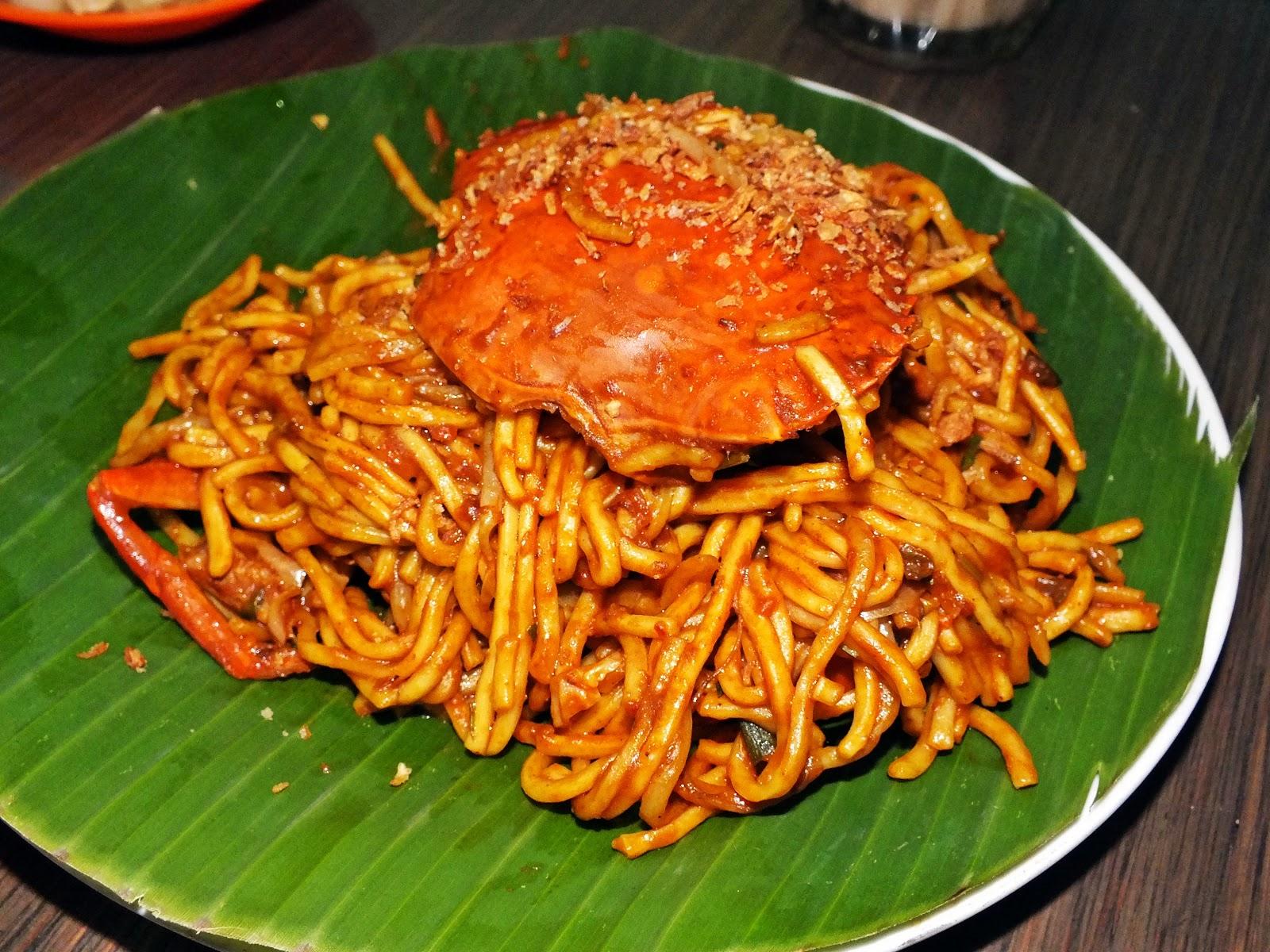 Crab Noodles Recipe — Dishmaps