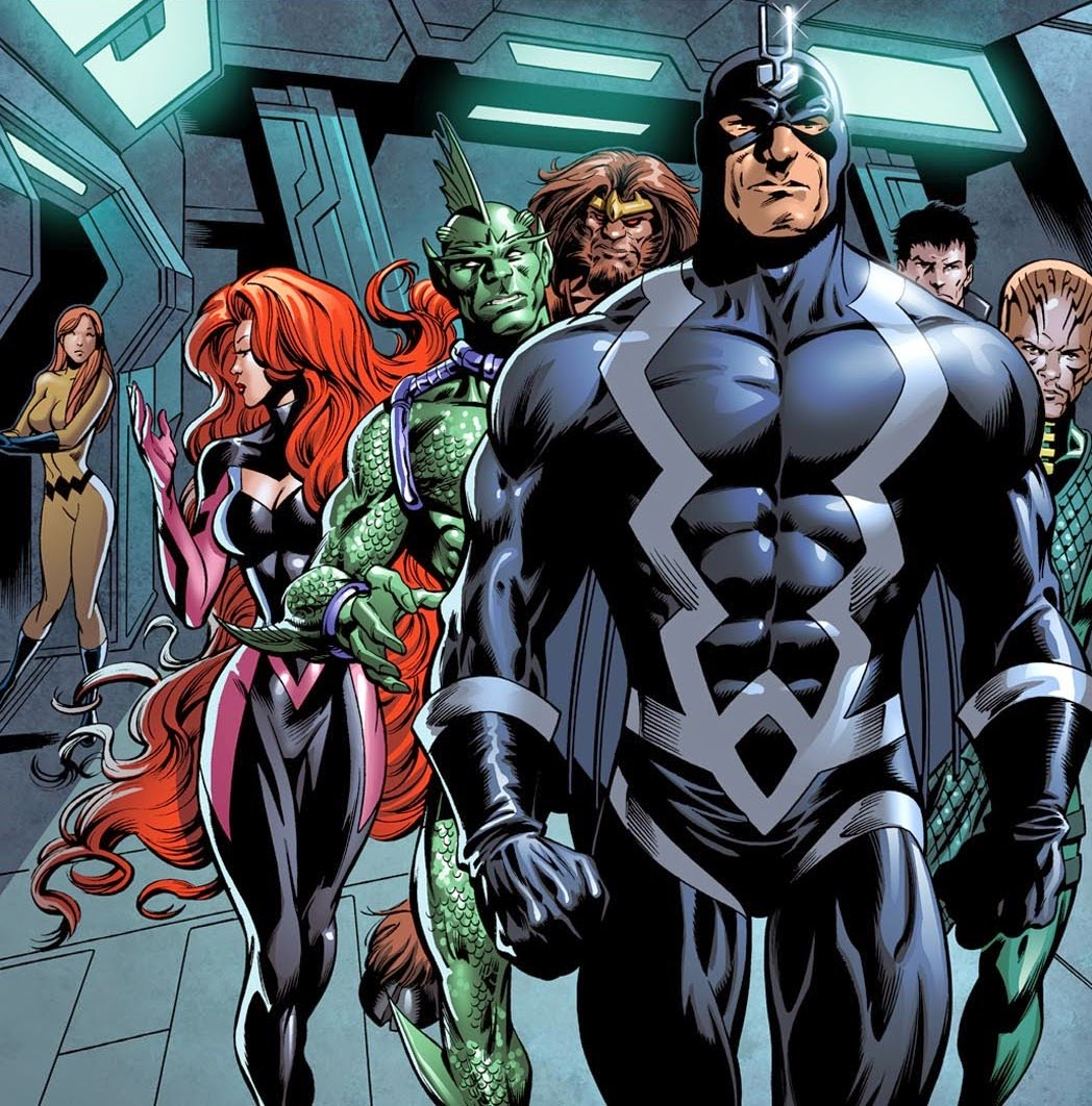Phase 3 Inhumans movie coming to MCU lineup