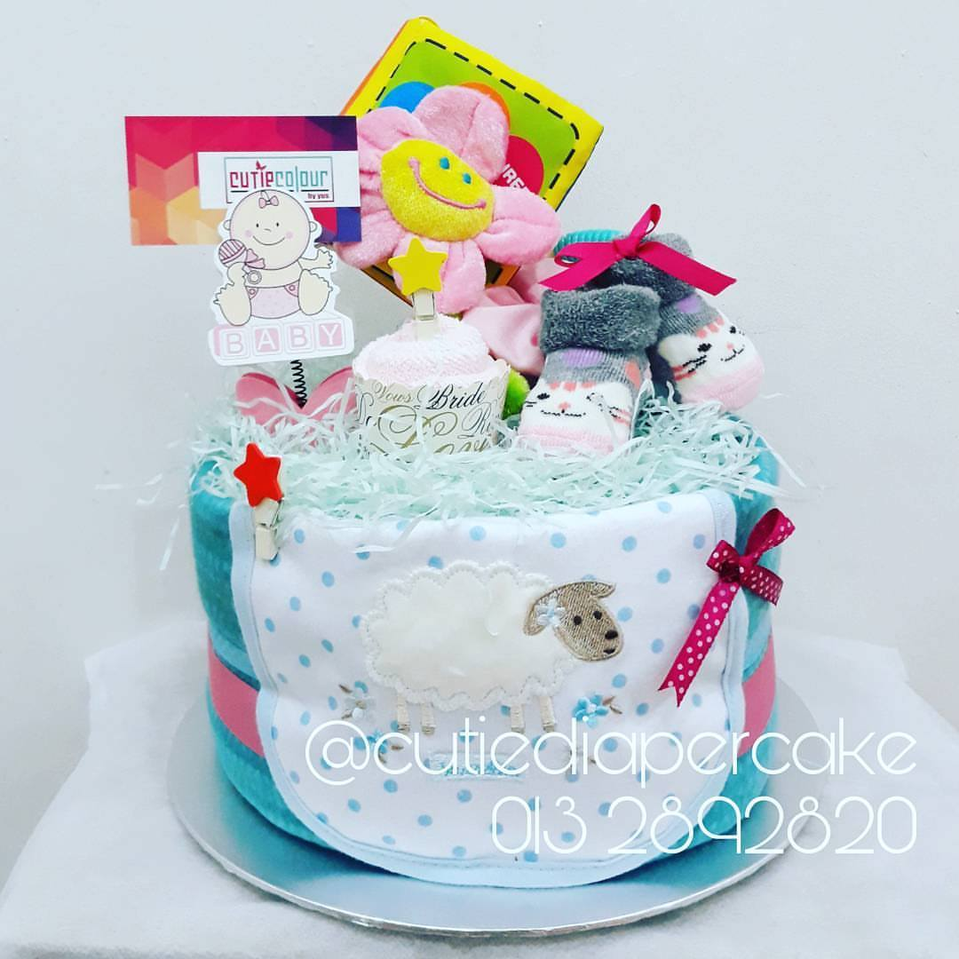 DIAPERCAKE BABY GIFT