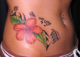 latest Stomach tattoo designs