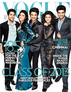 Ayushmann, Parineeti, Sushant Singh, Alia Bhatt and Arjun Kapoor cover Vogue India