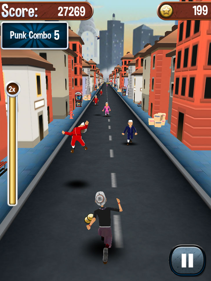 Angry Gran Run Free App Game By AceViral