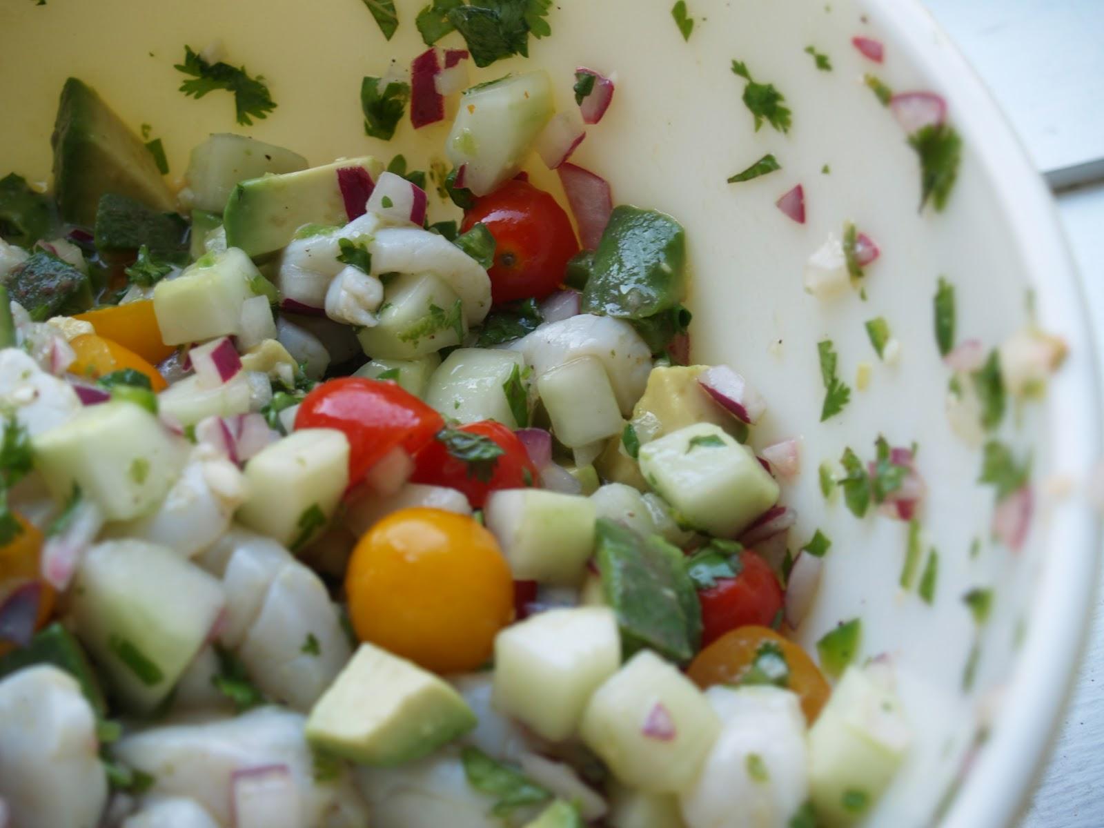 Scallop Ceviche Recipe — Dishmaps