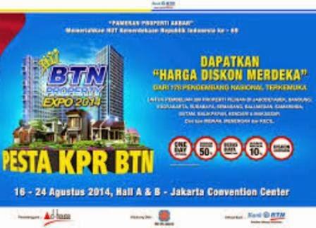 Daftar Rumah BTN Expo