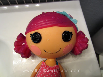 Lalaloopsy Mermaid purple hair