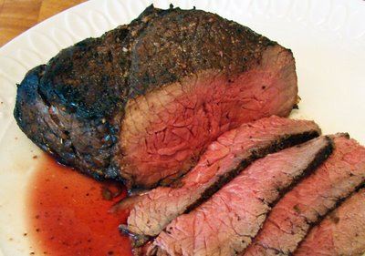 this photo is from google images, although my steak looked like this)