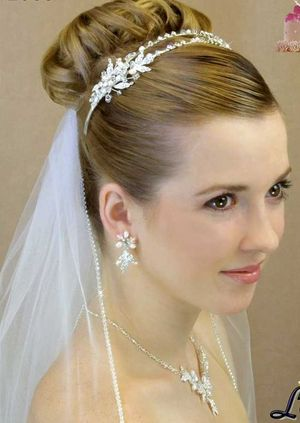 Wedding Hairstyles Updos With Veil 2012
