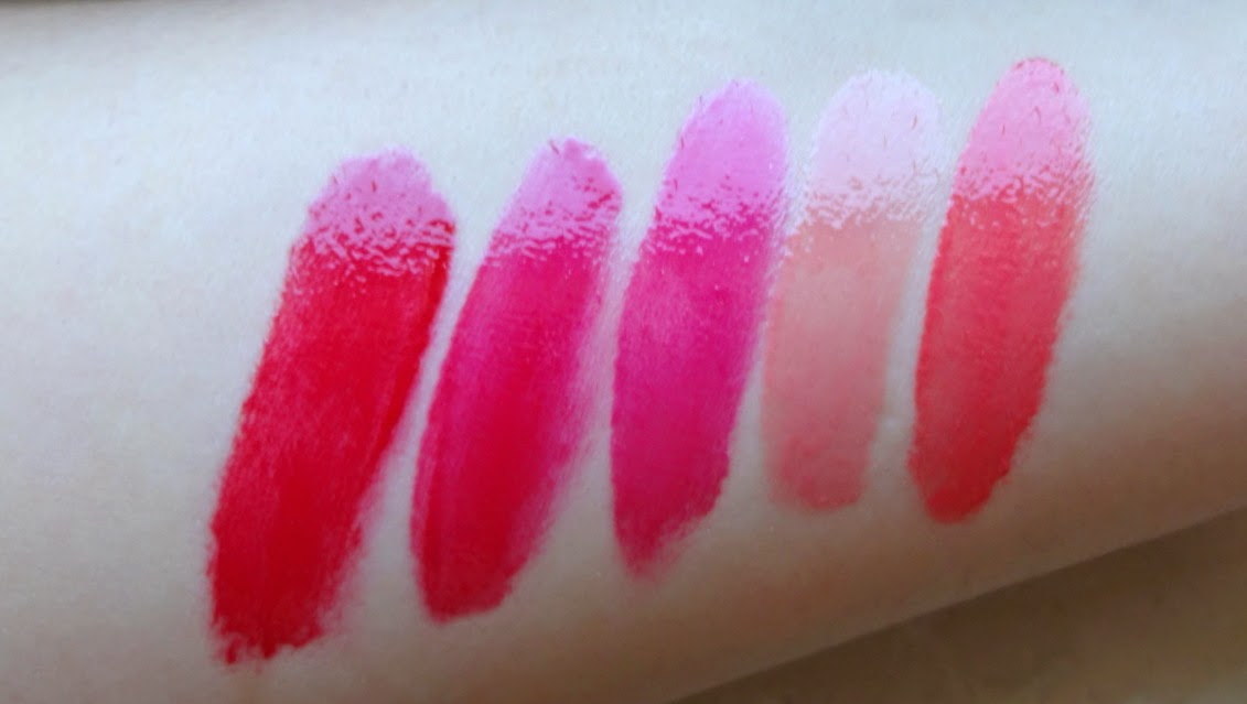 chanel rouge allure gloss swatches