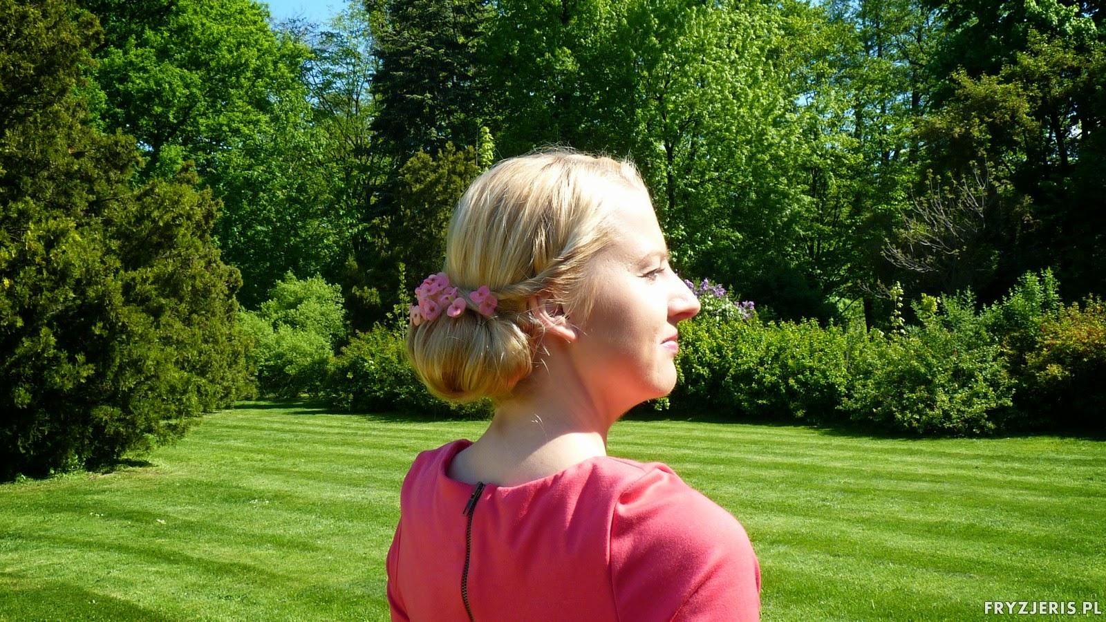 fryzury - upiecie na wypelniaczu 6
