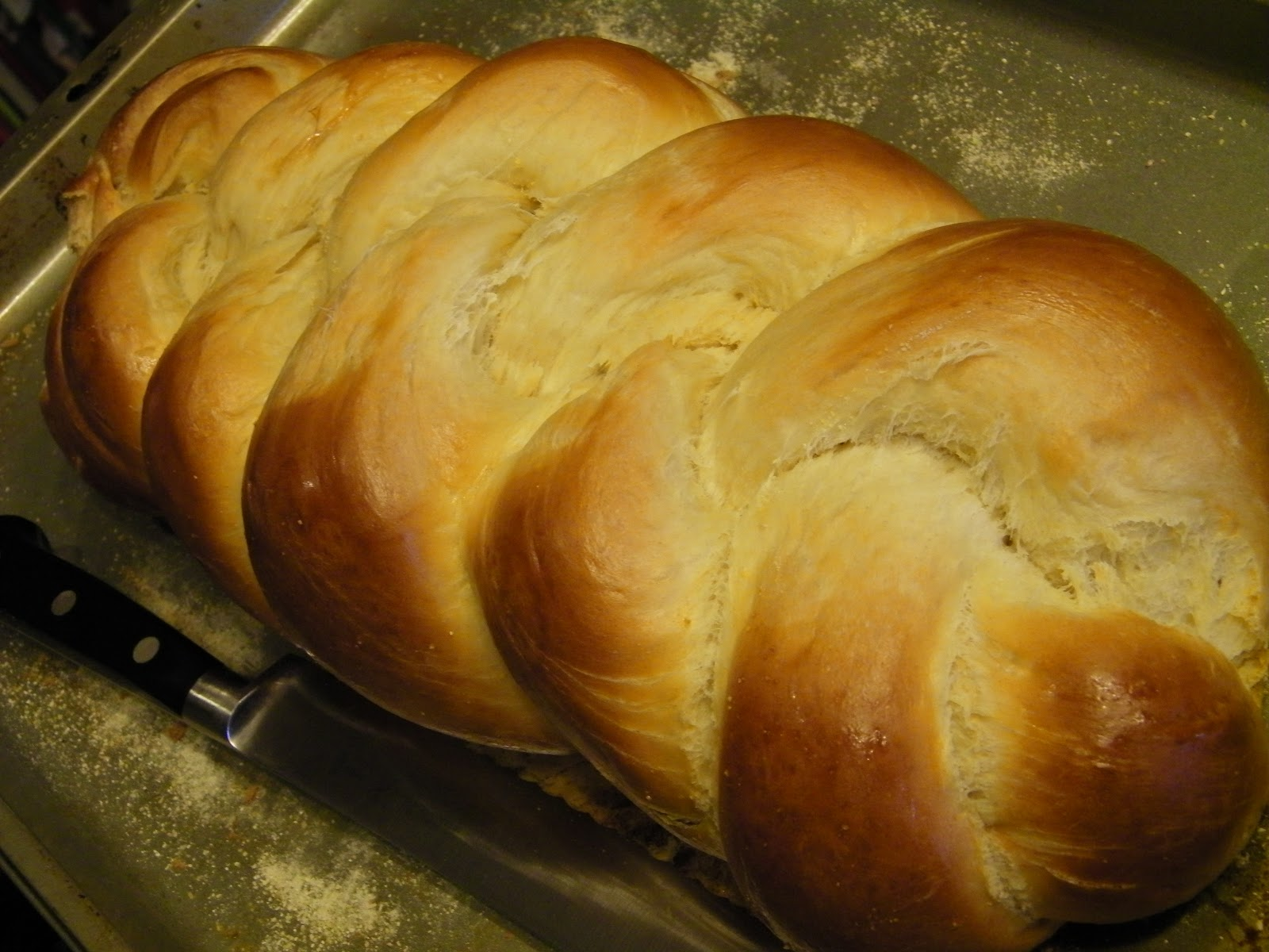 Learning as i sew bake cut and create bread rich soft smooth beautiful challah bread - Kitchenaid challah ...