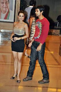 Amisha Patel presence at Sanjay Dutt Wedding Anniversary