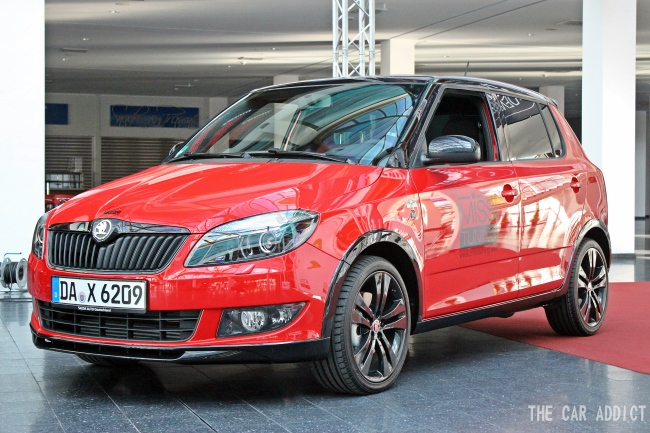 MISS TUNING 2013: Skoda Fabia for Leonie Hagmeyer-Reyinger