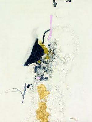 Manabu Mabe. 'Sem título'. Óleo sobre tela, 1967. 60 x 59 cm.