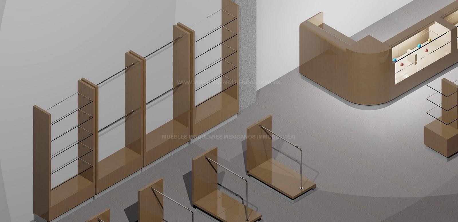 Muebles para almacen de ropa bogota for Muebles para almacen