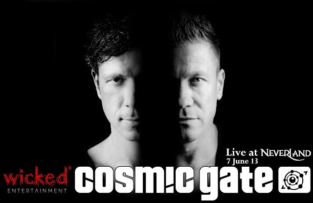 Wicked Nights Featuring Cosmic Gate This 7th June