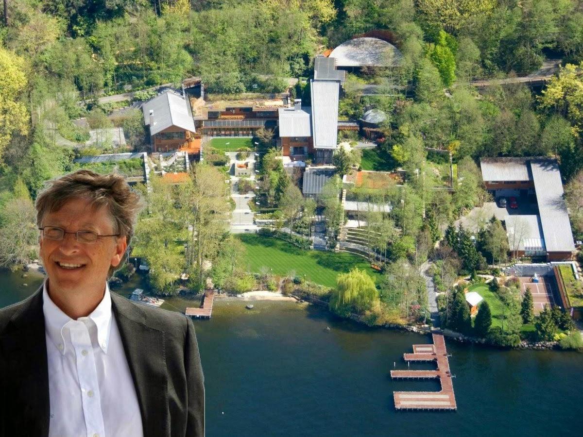 Bill Gates Home – Xanadu 2.0