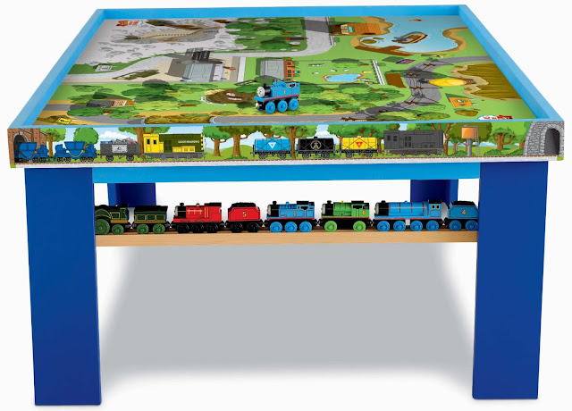 Wooden Railway - Wooden Railway Play Table: Thomas & Friends Wooden ...