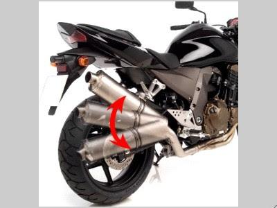 Cấu tạo ống xả xe máy