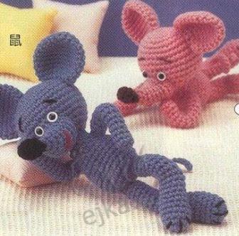 Схема вязанных игрушек крючком амигуруми