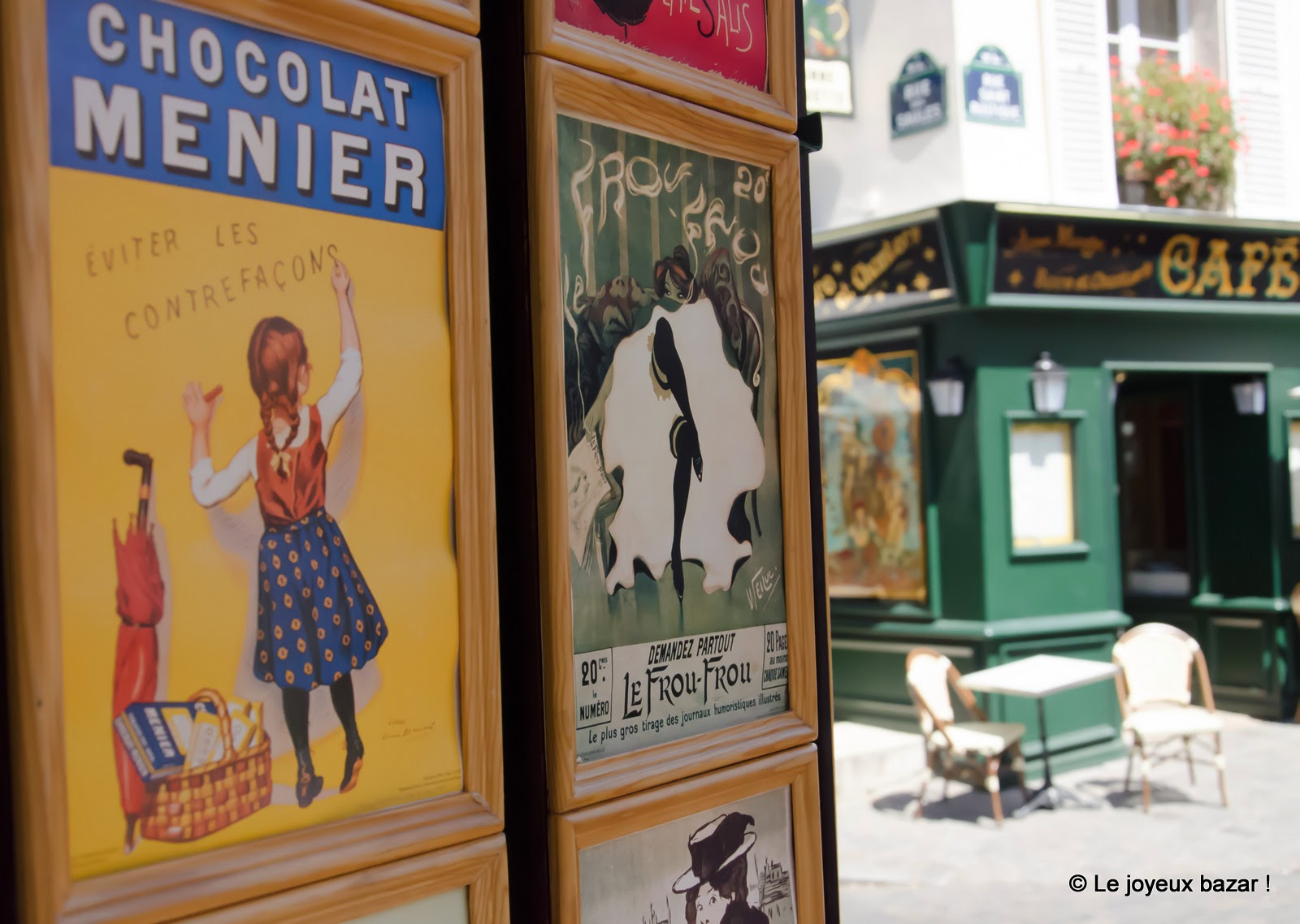 Paris - Montmartre - rue Norvins