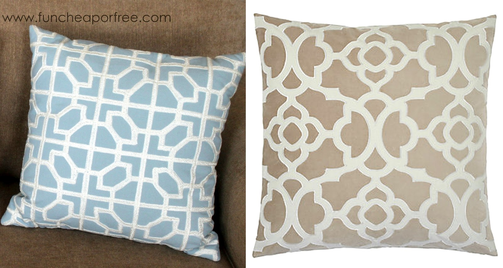 Decorative Pillows At Tj Maxx : Steals and Deals segment: Get THE LOOK for less! Where to find great deals on throw pillows ...