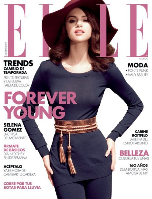 Selena Gomez For ELLE [Mexico] Magazine Cover !