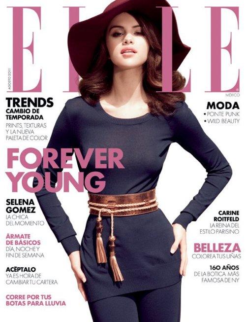 Selena Gomez For ELLE [Mexico] Magazine Cover !