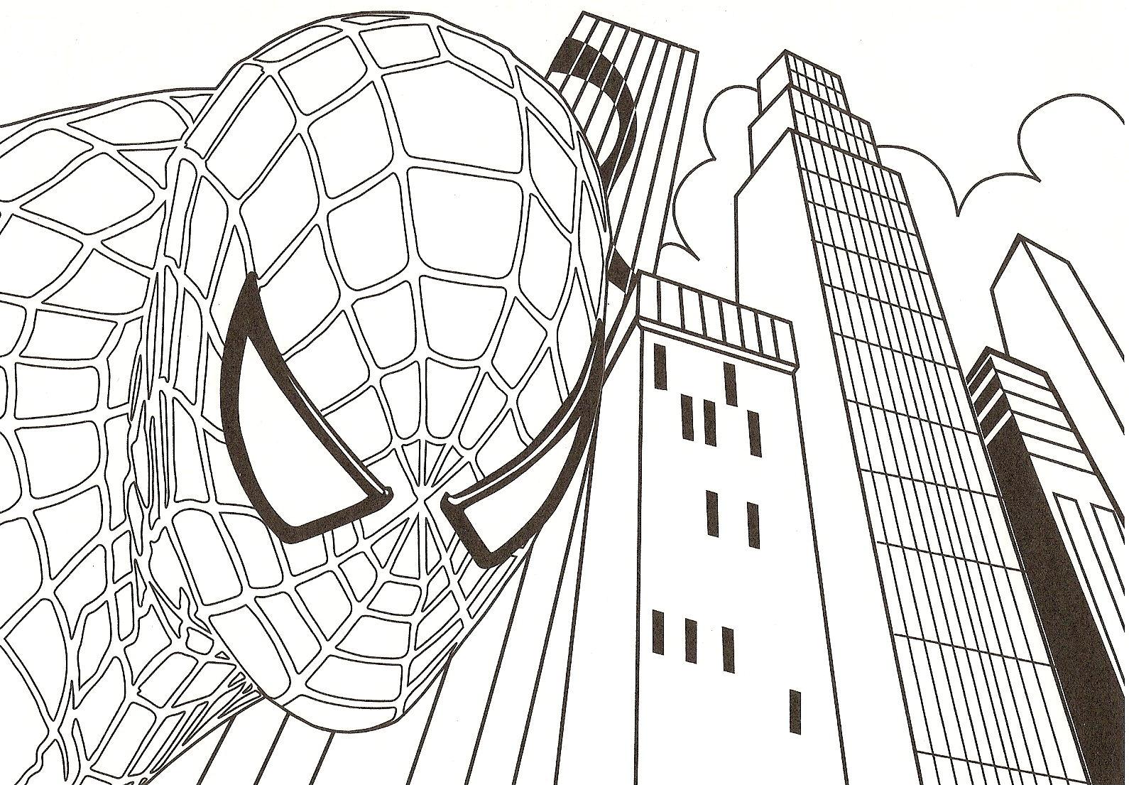 Temos Outros Desenhos Do Homem Aranha Para Pintar  Basta Usar A Caixa