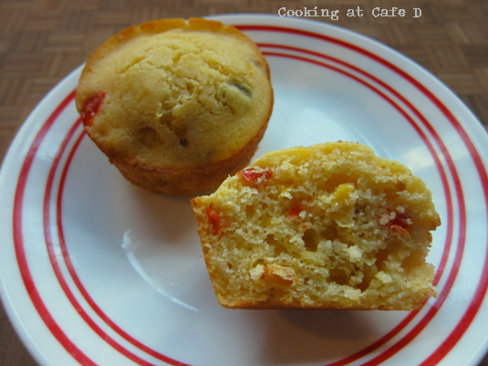 Southwest Roasted Corn Mini Muffins