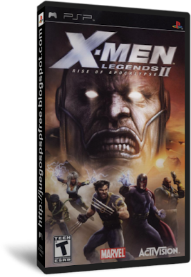 X-Men Legends II Rise of Apocalypse [Full] [1 link] [Ingles] [PSP] [FS]