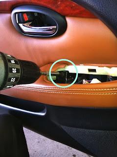 Lexus SC Door Panel Removal