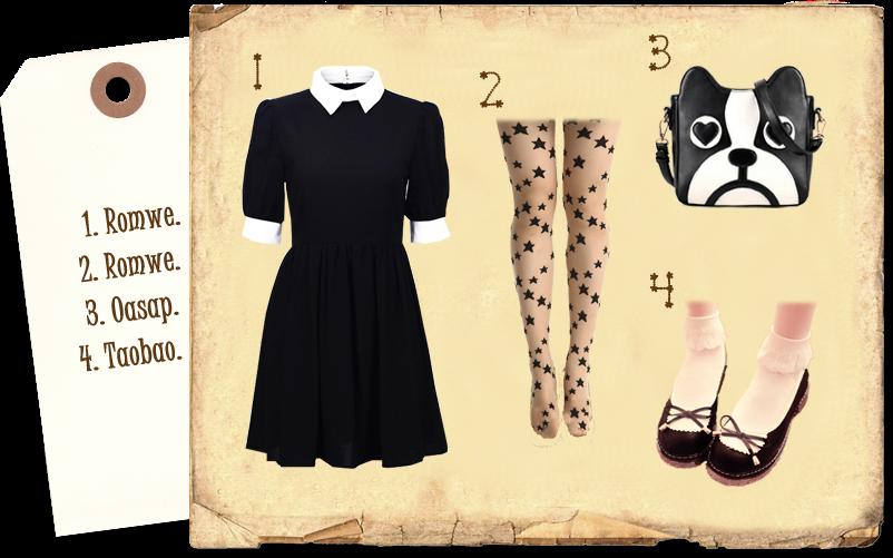 Gothic Dog: Romwe, Oasap, Taobao.