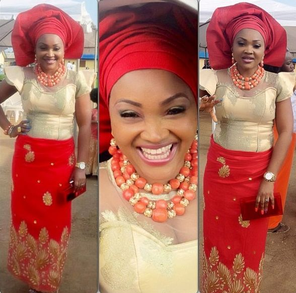 Mercy Aigbe In Native Wears (Pictures) | Nigeria Photos News, Stories ...