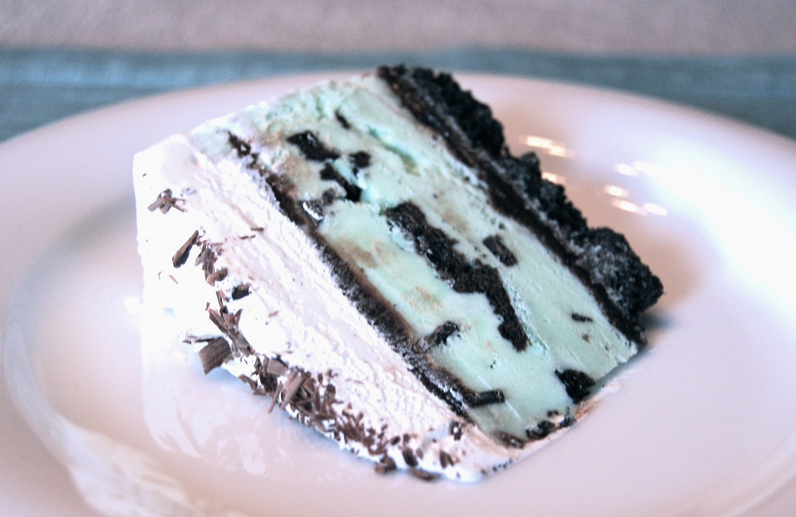 Much Kneaded: Mint Chocolate Chip Ice Cream Cake