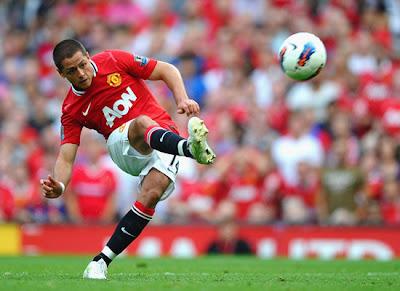 Javier Hernandez Manchester United vs Norwich City