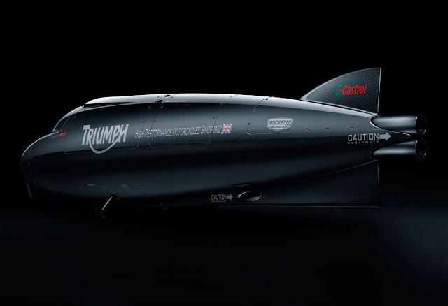 Castrol Rocket | Castrol Rocket Triumph | Castrol Rocket specs | Castrol Rocket topspeed | 1,000-horsepower Castrol Rocket