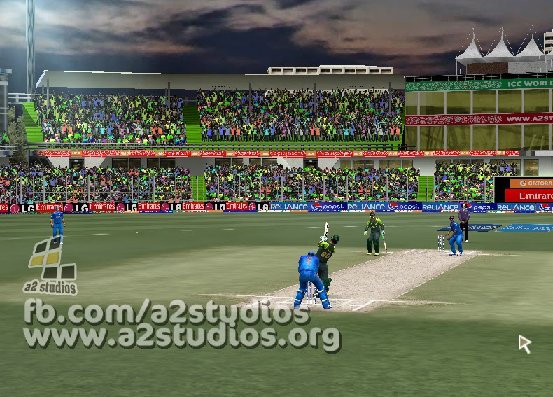 ICC T20 WORLD CUP 2014 GAMEPLAY