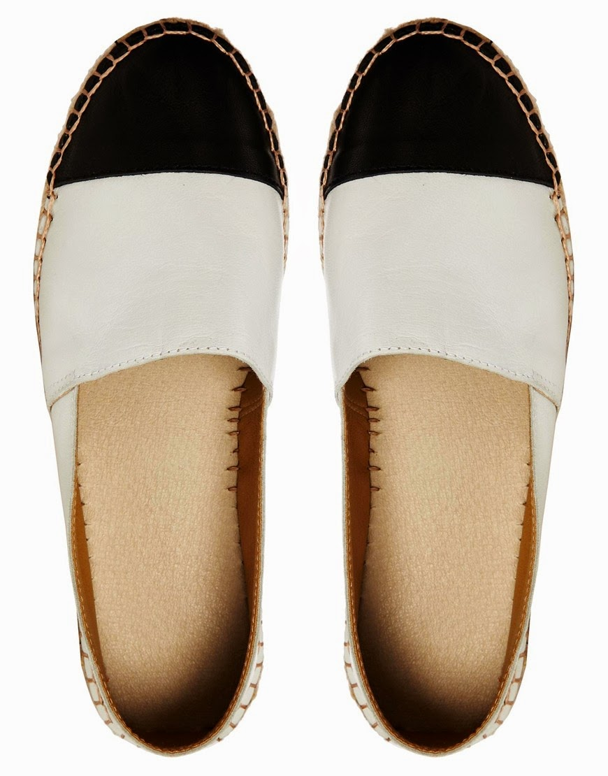 Leather Toe Cap Espadrilles - Beige Park Lane bwEy8IW