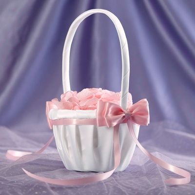 Свадебные корзинки для лепестков роз своими руками 31
