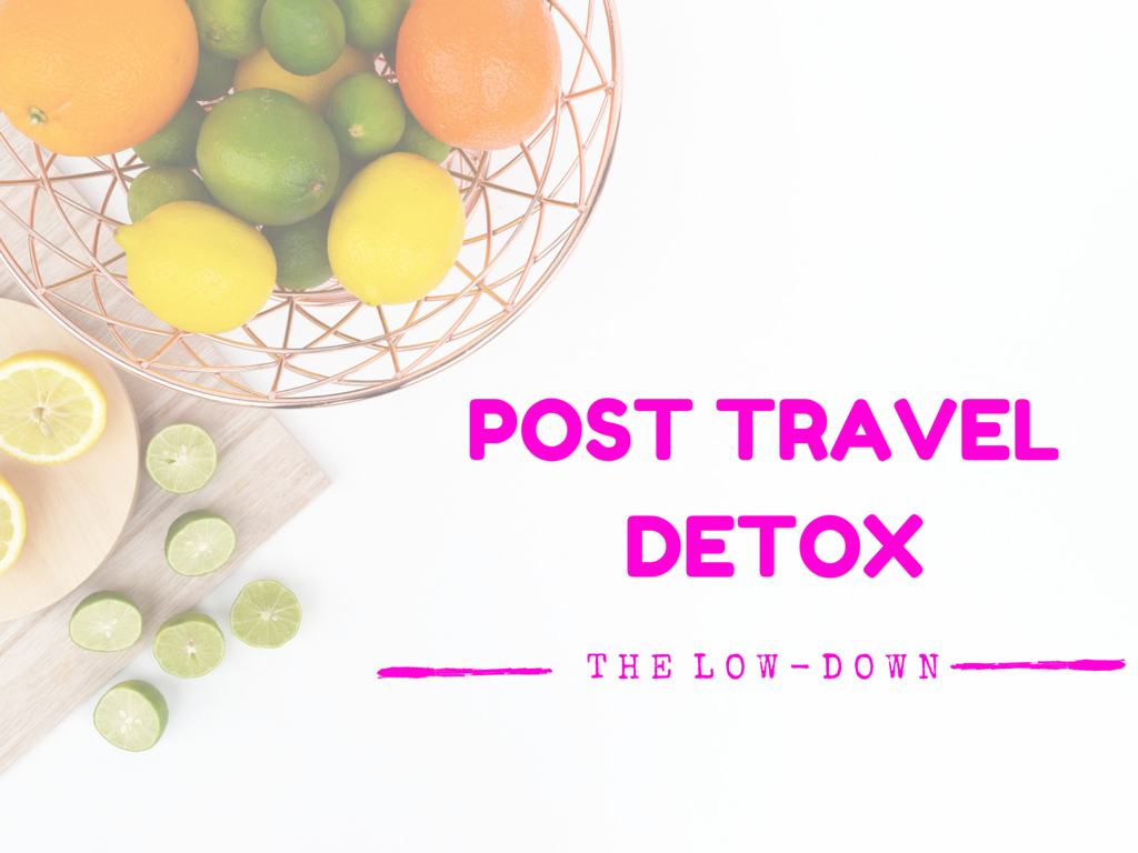 Post Holiday Detox Fruit
