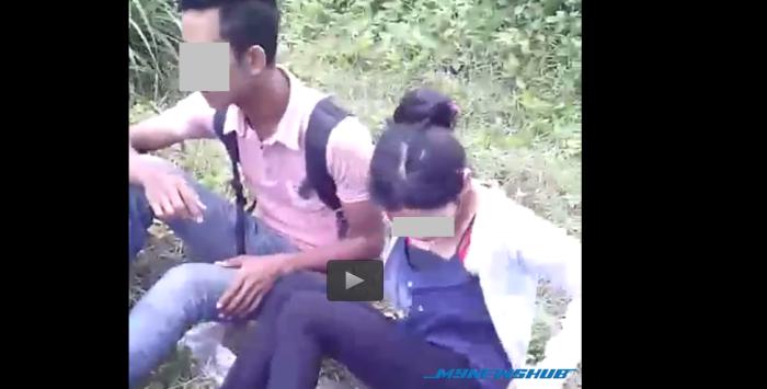 Video Kekasih Kantoi Beromen Dipaksa Teruskan Aksi KEJAM