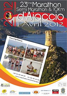 Marathon Ajaccio 2012