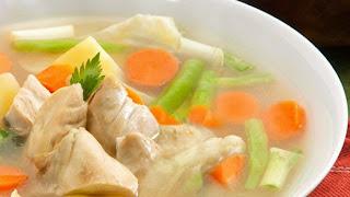 Resep sup ayam lezat