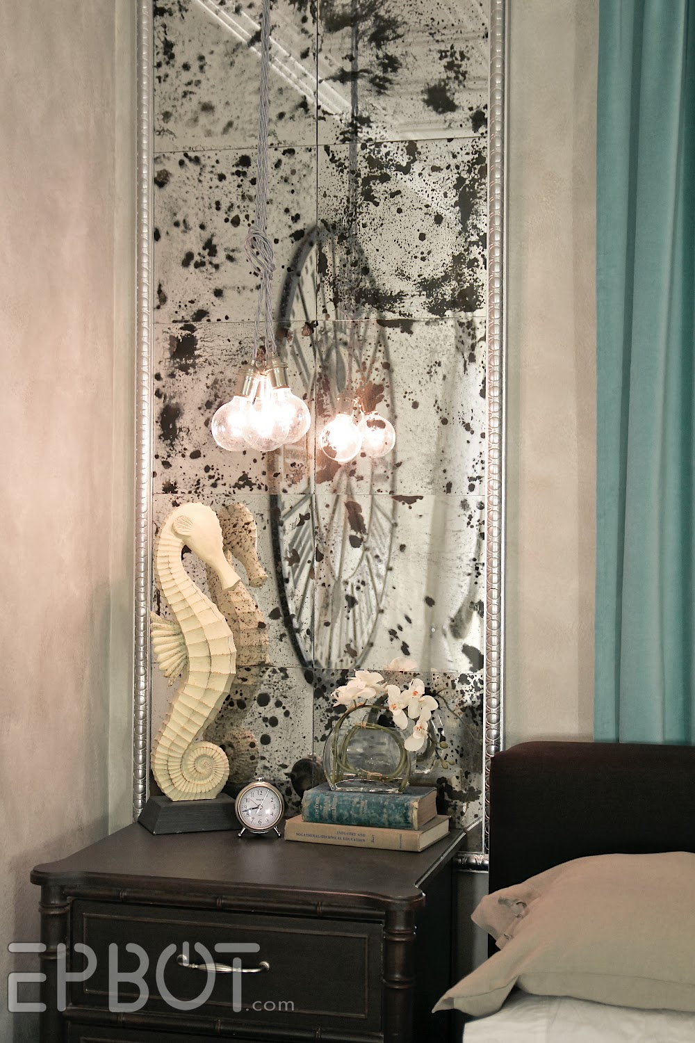 EPBOT DIY Antiqued Mirror Wall Panels Or Fun With Muriatic Acid