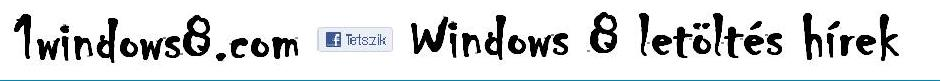 Windows 8 letöltés