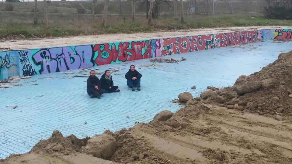 Apv la fortuna recuperaci n de la piscina solagua for Piscina solagua leganes