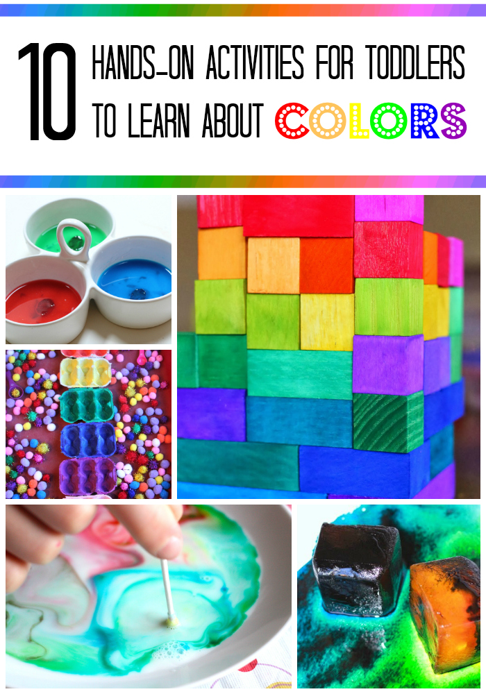Teaching toddlers colors - Planet Smarty Pants