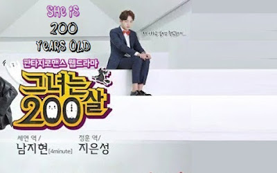Biodata Pemain Drama She is 200 Years Old