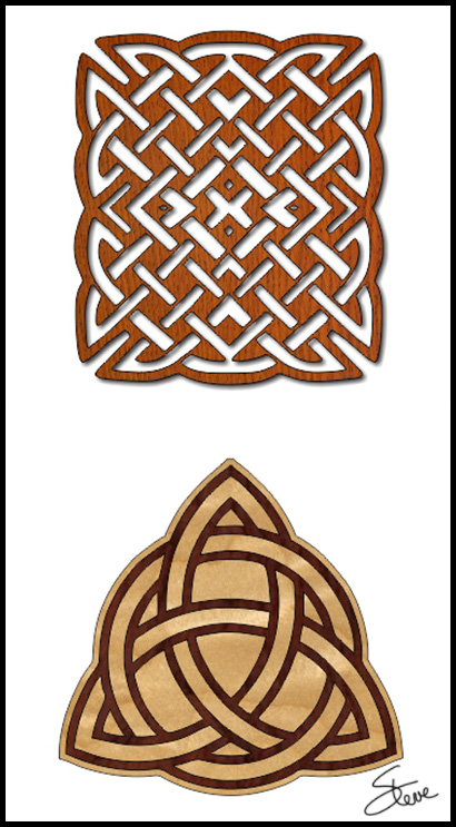 Scrollsaw Workshop Celtic Trivet Scroll Saw Patterns Interesting Scroll Saw Patterns