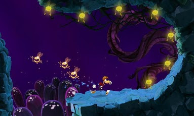 Rayman Jungle Run Game Screenshots